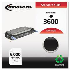 Remanufactured Q6470A (501A) Toner, Black