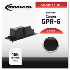 Innovera Compatible 6647A003AA (GPR-6) Toner, Black