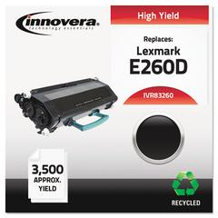 Innovera Remanufactured E260A21A (E260) Toner, Black