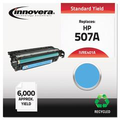 Remanufactured CE401A (507A) Toner, Cyan