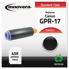 Remanufactured 0279B003AA (GPR-17) High-Yield Toner, Black