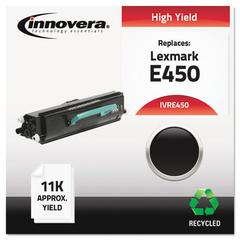 Innovera Remanufactured E450 Toner, Black