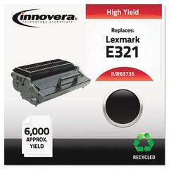 Remanufactured 12A7305 (E321) Toner, Black