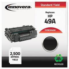 Innovera Remanufactured Q5949A (49A) Toner, Black