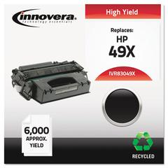 Innovera Remanufactured Q5949X (49X) High-Yield Toner, Black