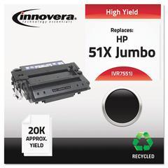 Remanufactured Q7551X(J) (51XJ) Extra High-Yield Toner, Black