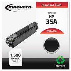 Innovera Remanufactured CB435A (35A) Toner, Black