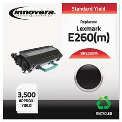 Innovera Remanufactured E260(M) (E260M) MICR Toner, Black