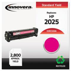 Remanufactured CC533A (304A) Toner, Magenta