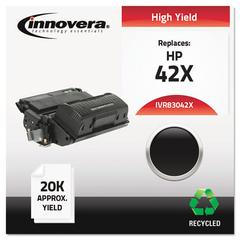 Innovera Remanufactured Q5942X (42X) High-Yield Toner, Black