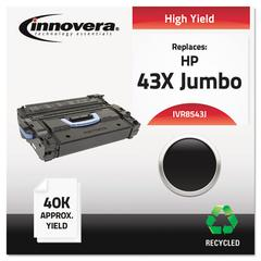 Remanufactured Q8543X(J) (43XJ) High-Yield Toner, Black