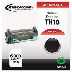 Innovera Remanufactured TK-18 Toner, Black