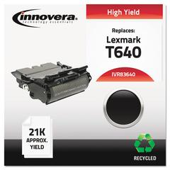 Remanufactured 64015HA (T640) High-Yield Toner, Black
