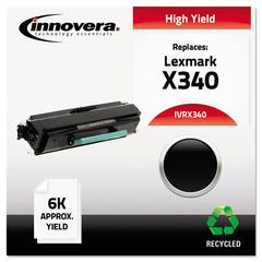 Remanufactured X340 High-Yield Toner, Black