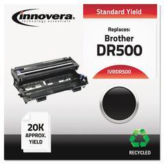 Innovera Remanufactured DR500 Drum Unit, Black