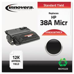 Remanufactured Q1338A(M) (38AM) MICR Toner, Black