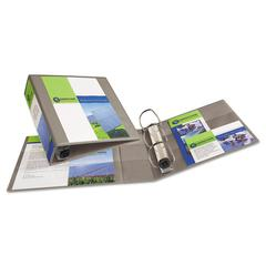 """Avery Heavy-Duty View Binder w/Locking 1-Touch EZD Rings, 3"""" Cap, Sand"""