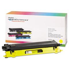 Media Sciences 39410 Remanufactured TN115Y High-Yield Toner, Yellow