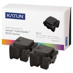 39401 Compatible 108R00929 Solid Ink Stick, Black, 2/BX