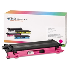 Media Sciences 39409 Remanufactured TN115M High-Yield Toner, Magenta