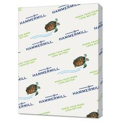 Hammermill Recycled Colored Paper, 20lb, 8-1/2 x 11, Canary, 5000 Sheets/Carton