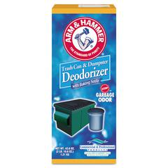 Arm & Hammer Trash Can & Dumpster Deodorizer, Sprinkle Top, Original, Powder, 42.6 oz