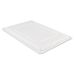 Rubbermaid Commercial Food/Tote Box Lids, 26w x 18d, White
