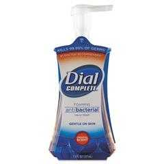 Dial Antibacterial Foaming Hand Wash, Liquid, Original Scent, 7.5oz Pump Bottle