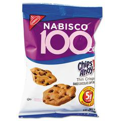 Nabisco 100 Calorie Chips Ahoy Chocolate Chip Cookie, 6/Box