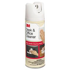 3M Desk & Office Spray Cleaner, 15oz Aerosol, 12/Carton