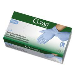 Curad Nitrile Exam Glove, Powder-Free, Large, 150/Box