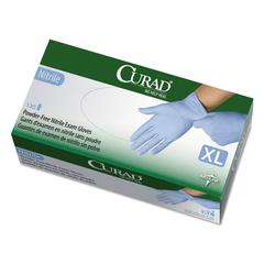 Curad Nitrile Exam Glove, Powder-Free, X-Large, 130/Box