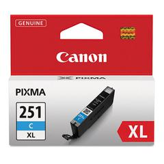 Canon 6449B001 (CLI-251XL) ChromaLife100+ High-Yield Ink, Cyan