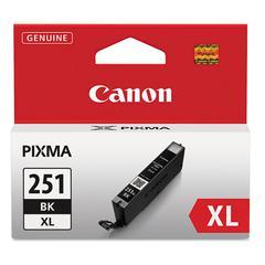 6448B001 (CLI-251XL) ChromaLife100+ High-Yield Ink, Black