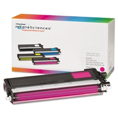 Media Sciences 39857 Remanufactured TN210M Toner, Magenta