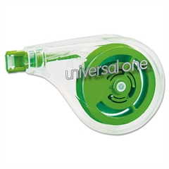 "Universal Sideways Application Correction Tape, 1/5"" x 393"", 6/Pack"