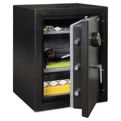 FireKing Half Hour Fire and Water Safe, 4.02 ft3, 21-3/5 x 19 x 27-1/4, Black