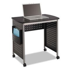 Scoot Computer Desk, 32-1/4w x 22d x 30-1/2h, Black/Silver