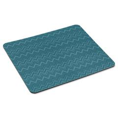 "Mouse Pad with Precise Mousing Surface, 9"" x 8"" x 1/5"", Chevron Design"