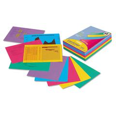 Pacon Array Colored Bond Paper, 24lb, 8-1/2 x 11, Assorted Designer Colors, 500/Ream