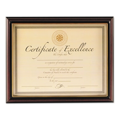 DAX Document Frame, Rosewood, 8 1/2 x 11