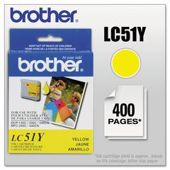 Brother LC51Y Innobella Ink, Yellow