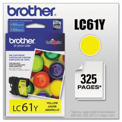 Brother LC61Y Innobella Ink, Yellow