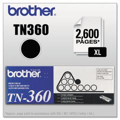 TN360 High-Yield Toner, Black