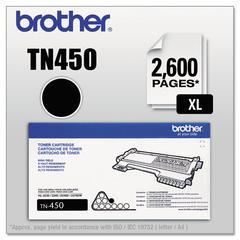 Brother TN450 High-Yield Toner, Black
