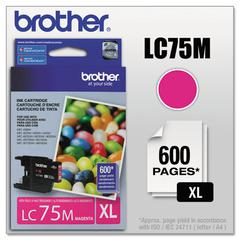 Brother LC75M Innobella High-Yield Ink, Magenta