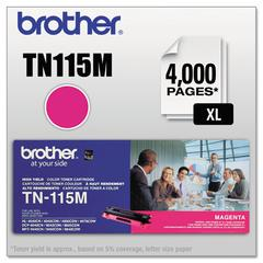 TN115M High-Yield Toner, Magenta