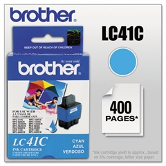 Brother LC41C Ink, Cyan