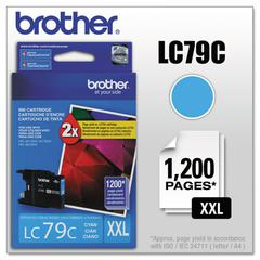 Brother LC79C Innobella Super High-Yield Ink, Cyan