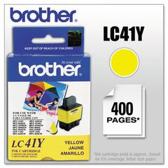 Brother LC41Y Ink, Yellow